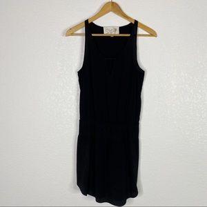 Rory Beca Black 100% Silk Sleeveless Mini Dress